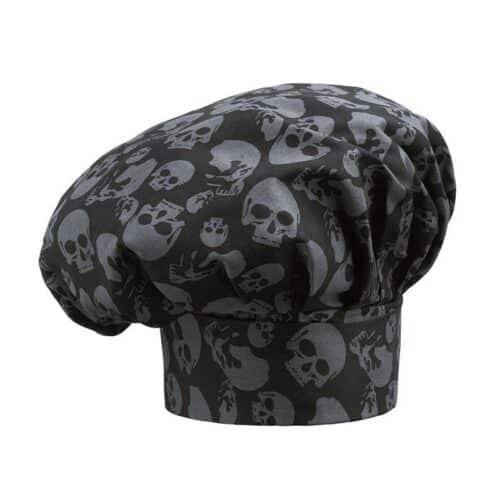 cappello-cuoco-skulls