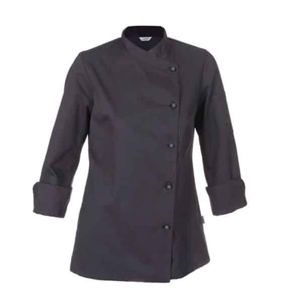 giacca-cuoco-donna-catania-grigio-scuro