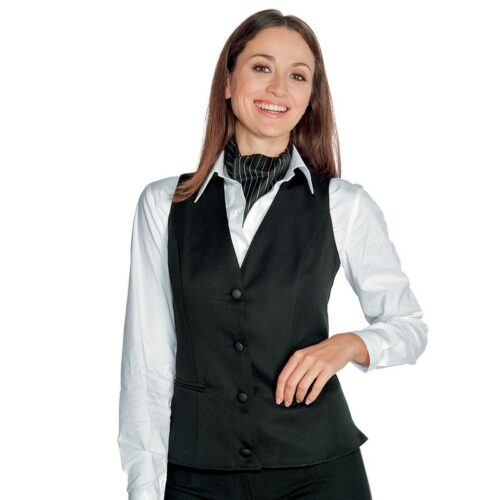 Gilet donna Venezia nero Isacco