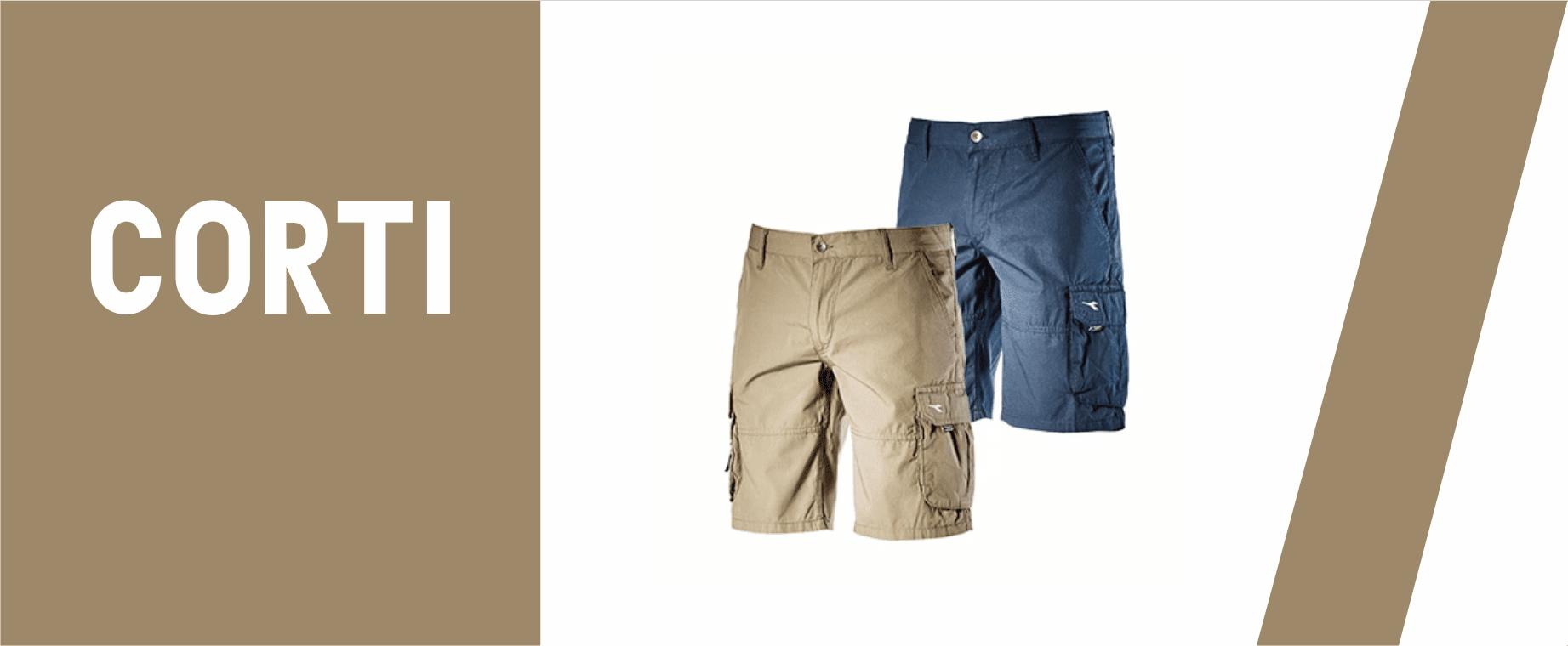 Pantaloni da lavoro corti