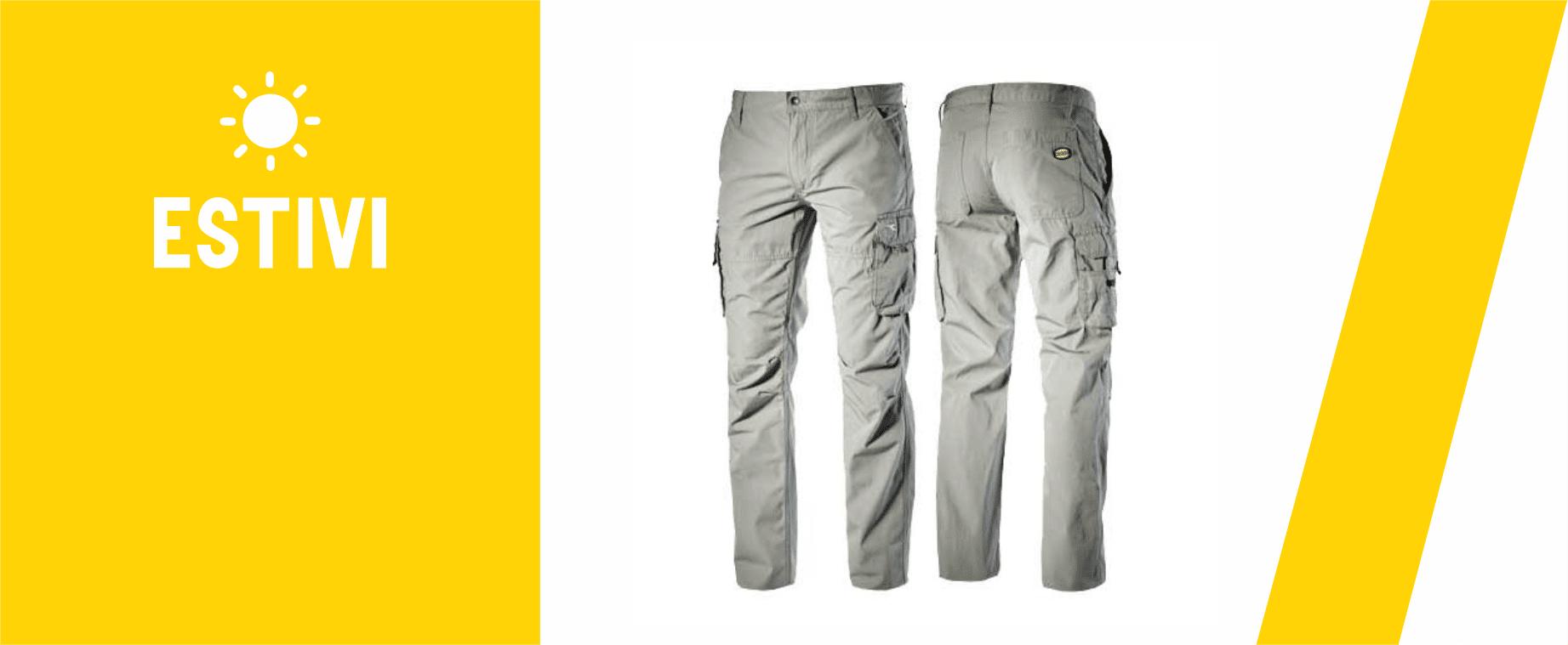 Pantaloni da lavoro estivi