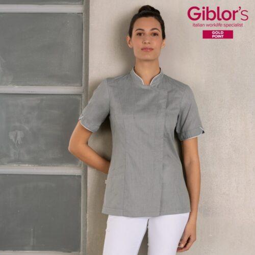 tania-giacca-cuoco-donna-grigio-ultraleggera-giblors-personalizzata-on-line