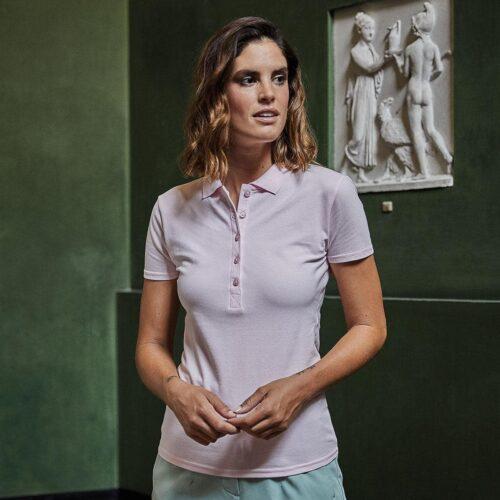 TJ145-lady-luxury-polo-donna-cotone-jersey-rosa