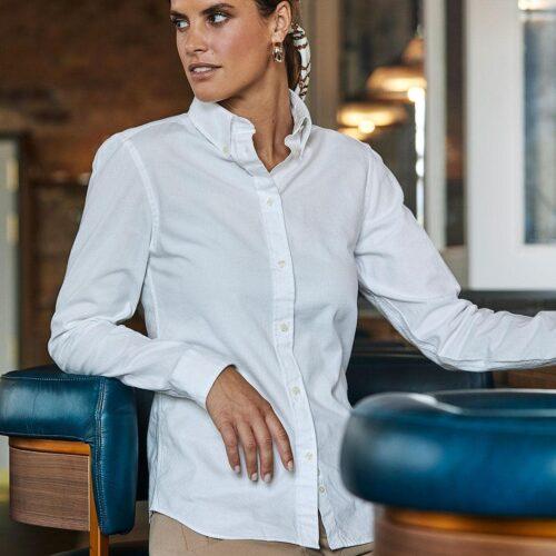 TJ4001-perfect-oxford-camicia-uomo-elegante-bianco