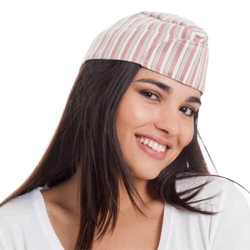 bradford-berretto-bustina-unisex-rigato-rosso-gelateria
